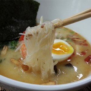 Japanese Ramen with Shirataki Noodles