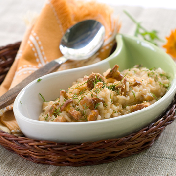 Miracle Carb Diet Risotto with Skinny Rice by Tanya Zuckerbrot, MS, RD