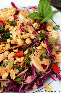 Asian Shrimp and Noodle Salad with Shirataki Noodles