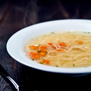 Slow Cooker Chicken Noodle Soup with Shirataki Noodles