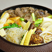 Sukiyaki with Shirataki Noodles