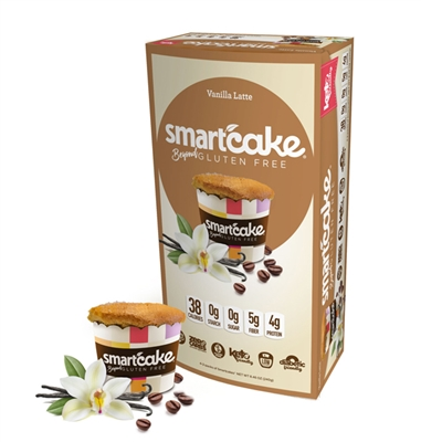 8 Vanilla Latte SmartCAKE (4-pack) - NEW!